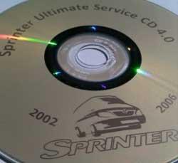 Sprinter Manual DVDs