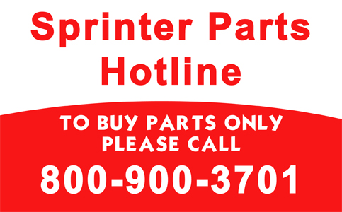 Sprinter Parts Hotline