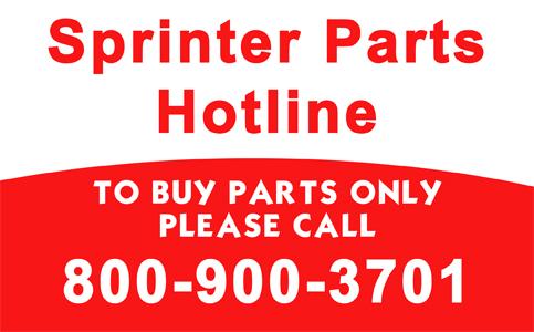 Sprinter Parts Hotline