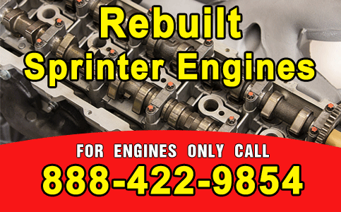 Rebuilt Sprinter Engines